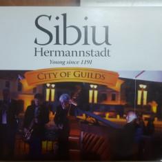 Sibiu, City of Guilds, Orașul Breslelor, Istorie, Hartă color, Artă.
