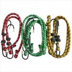 Set chingi elastice pentru fixare, 6 buc, diametru 6 mm, lungime 30, 50 si 60 cm, Strend Pro LB332