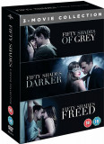 Filme Fifty Shades Of Grey Trilogy DVD BoxSet