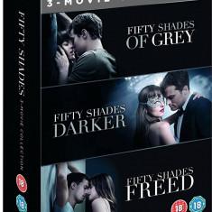Filme Fifty Shades Of Grey Trilogy DVD BoxSet