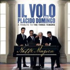 Il Volo with placido Domingo-Notte Magica - A Tribute to The Three Tenors-DVD