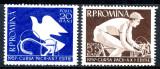 1957 LP430 serie Cursa pacii MNH, Sport, Nestampilat