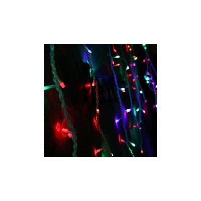 Instalatie de Craciun SDX, 8035RB, Perdea, Multicolor, 120 leduri, 3 m x 1 m foto