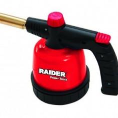 Lampa de gaz cu arzator si piezzo Raider RD-BT02
