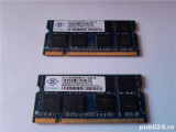 Kit Memorie Laptop NANYA SODIMM 2GB DDR2 (2 Buc x 1 Gb) 667mhz PC2-5300 P235