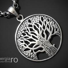 Pandantiv Arborele, Pomul, Copacul Vietii Argint - cod PND910