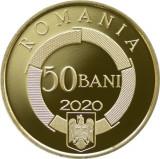 50 bani 2020 2021 PROOF FRANCOFONIA BNR Francofonie ALAMA 50 ani organizatia
