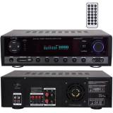 AMPLIFICATOR 5.1 2X50W + 3X20W FM/BT/USB/SD/AUX 2 LINII MIC
