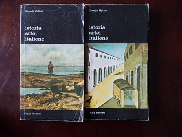 ISTORIA ARTEI ITALIENE-CORRADO MALTESE-VOL I SI II-R2D