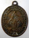 1.637 MEDALION TEMA RELIGIOASA FECIOARA MARIA h25mm