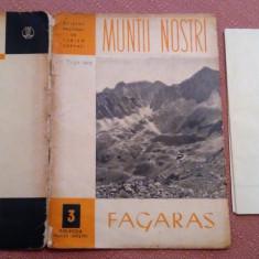 Fagaras. Contine harta - Colectia Muntii Nostri Nr. 3