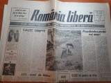 "Ziarul romania libera 16 august 1990-art. "" S.O.S tarani din moldova """