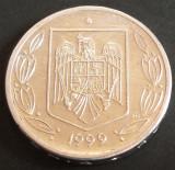 Moneda 500 LEI - ROMANIA, anul 1999   *cod 5097