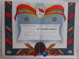 Diploma UTC 1972 comunista