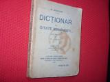 DICTIONAR  DE  CITATE  ROMANESTI  ( editia 1927, prefata de N. Iorga )  *