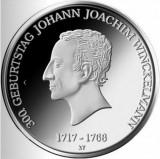Moneda jubiliara GERMANIA - 20 euro 2017 - J.J.Winckelman - UNC, Europa, Argint