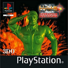 Army Men Operation Meltdown - PS1 [Second hand], Single player, Shooting, 12+