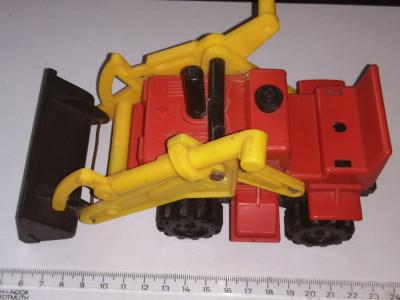 bnk jc URSS - tractor incarcator frontal foto