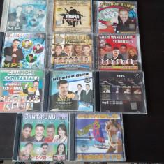 CD MANELE , NICOLAE GUTA ,ETC  , MP 3 , LOT 11 BUCATI .