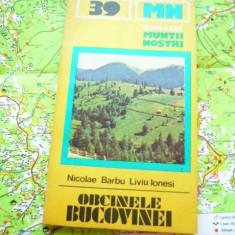RWX HAR - 6 - COLECTIA MUNTII NOSTRI - NR 39 - OBCINELE BUCOVINEI - 1987