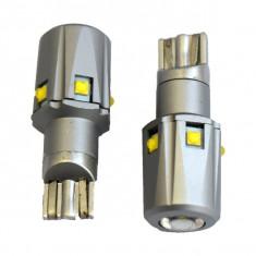 Set Becuri CANBUS T10 cu 6 SMD 2525, 6W, 12V