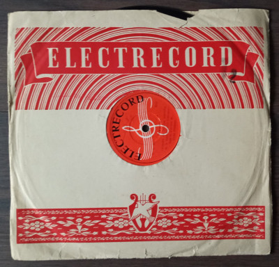"Disc ebonita 10"" vechi - Perinita / Hora Martisorului foto"