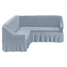 Husa pentru canapea tip Coltar culoare GRI