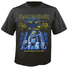 Tricou Iron Maiden: Back In Time Mummy