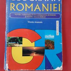 GEOGRAFIA ROMANIEI PENTRU ADMITEREA IN INVATAMANTUL SUPERIOR ATANASIU