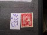 1949-Saar-Mi264-MNH-Perfect, Nestampilat