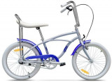 Bicicleta Pegas Strada Mini 1S 2017, Cadru 13inch, Roti 20inch (Bleu)