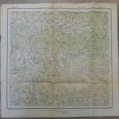 Baile Govora// harta Serviciul Geografic Armatei 1916