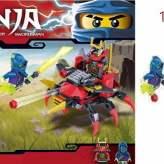 Joc creativ lego Ninja figurine, peste 114 piese