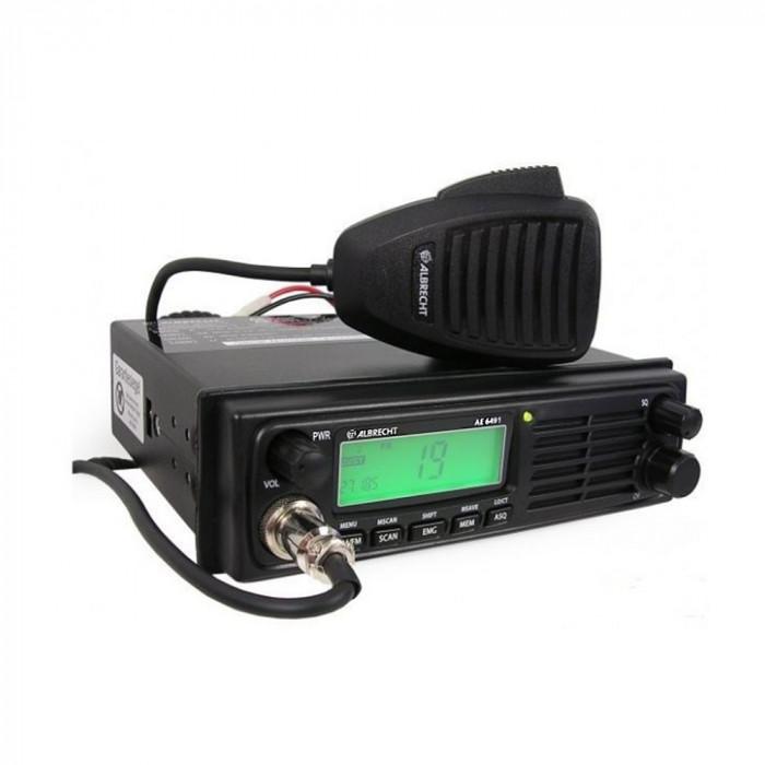 Resigilat : Statie radio CB Albrecht AE 6491 Cod 12648 convertor automat 12-24V