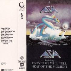 Caseta Asia – Asia, originala, rock