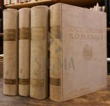 DUMITRIE GUSTI - ENCICLOPEDIA ROMANIEI, 4 Volume (Set Complet), 1938-1943, Bucuresti