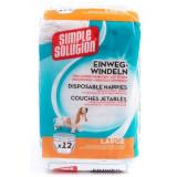 Scutece pentru câini Simple Solution L, 12 buc