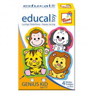 Joc educativ - Animalele - Bino