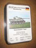 B990-Tancurile al 2 lea razboi si anii imediat dupa-Carti de joc 32 bucati.