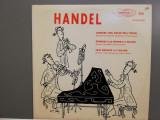 Handel – Cantata/Sonatas in D minor/Trio.....(1965/Counterpoint/USA) - VINIL/NM+, emi records