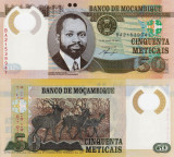 MOZAMBIC 50 meticais 2011 polymer UNC!!!