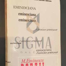 MIHAI EMINESCU * POEZII - CONSTANTIN CIOPRAGA