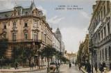 Carte postala austro-ungara cu stampila cenzurii militare primul razboi mondial