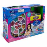 Set creativ de jucarie pentru fete, model creare bijuterii cu oglinda, multicolor