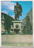 bnk cp Baile Herculane - Statuia lui Hercules - circulata