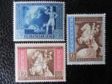 timbre deutsches reich -CONGRESUL POSTELOR - SERIE COMPLETA-NESTAMPILATE