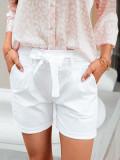 Cumpara ieftin Pantaloni scurti femei WLR008 - alb