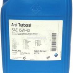 Ulei motor pentru camioane ARAL Turboral 15W40 20 L 15553A
