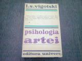 PSIHOLOGIA ARTEI - L.S. VIGOTSKI