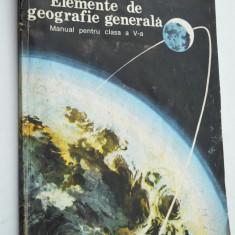 Manual Elemente de Geografie generala pentru clasa a V-a 1996, Clasa 9